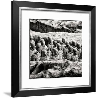 China 10MKm2 Collection - Army of Terracotta Warriors - Shaanxi Province-Philippe Hugonnard-Framed Photographic Print