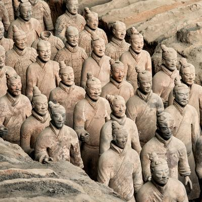 China 10MKm2 Collection - Army of Terracotta Warriors - Shaanxi Province-Philippe Hugonnard-Photographic Print