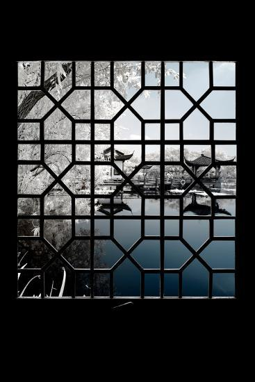 China 10MKm2 Collection - Asian Window - Another Look Series - Blue Lagoon-Philippe Hugonnard-Photographic Print