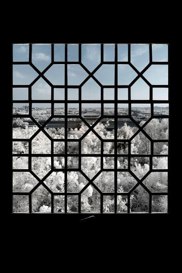 China 10MKm2 Collection - Asian Window - Another Look Series - Forbidden City-Philippe Hugonnard-Photographic Print
