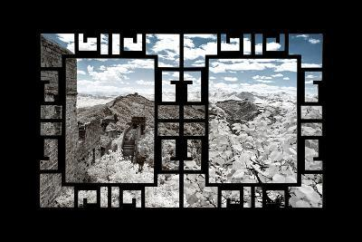 China 10MKm2 Collection - Asian Window - Another Look Series - Great Wall of China-Philippe Hugonnard-Photographic Print