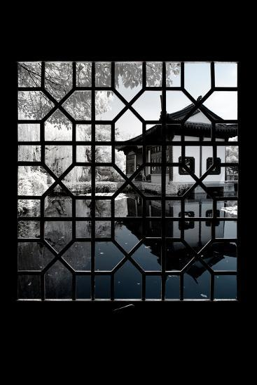 China 10MKm2 Collection - Asian Window - Another Look Series - Reflections-Philippe Hugonnard-Photographic Print