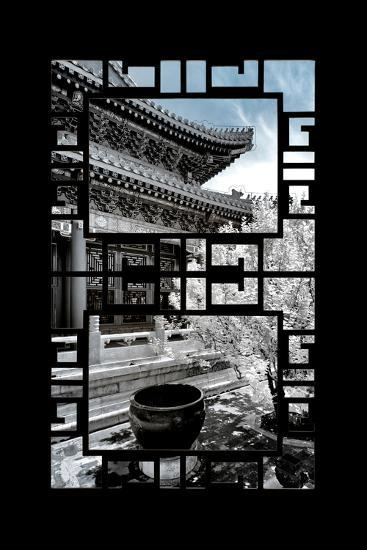 China 10MKm2 Collection - Asian Window - Another Look Series - Summer Palace-Philippe Hugonnard-Photographic Print