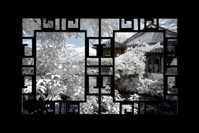 China 10MKm2 Collection - Asian Window - Another Look Series - White House-Philippe Hugonnard-Photographic Print