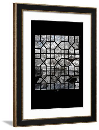 China 10MKm2 Collection - Asian Window - Another Look Series - White Island-Philippe Hugonnard-Framed Photographic Print