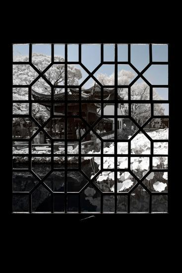 China 10MKm2 Collection - Asian Window - Another Look Series - White Lotus-Philippe Hugonnard-Photographic Print