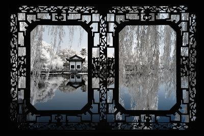 China 10MKm2 Collection - Asian Window - Another Look Series - White Reflections-Philippe Hugonnard-Photographic Print