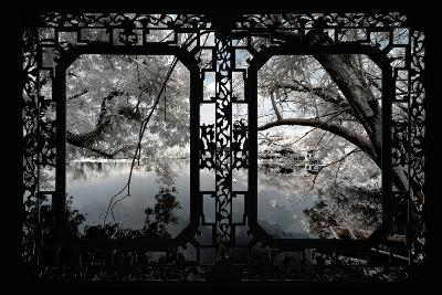 China 10MKm2 Collection - Asian Window - Another Look Series - White Thinking-Philippe Hugonnard-Photographic Print
