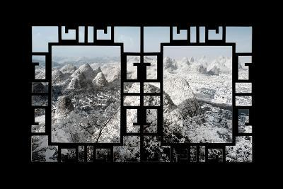 China 10MKm2 Collection - Asian Window - Another Look Series - Yangshuo-Philippe Hugonnard-Photographic Print