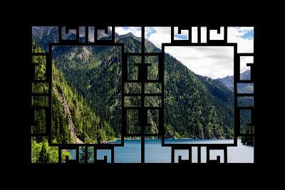 China 10MKm2 Collection - Asian Window - Beautiful Lake in the Jiuzhaigou National Park-Philippe Hugonnard-Photographic Print