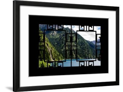 China 10MKm2 Collection - Asian Window - Beautiful Lake in the Jiuzhaigou National Park-Philippe Hugonnard-Framed Photographic Print