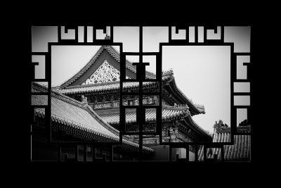 China 10MKm2 Collection - Asian Window - Forbidden City-Philippe Hugonnard-Photographic Print