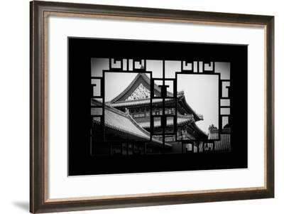 China 10MKm2 Collection - Asian Window - Forbidden City-Philippe Hugonnard-Framed Photographic Print