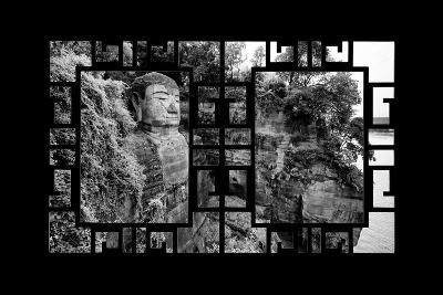 China 10MKm2 Collection - Asian Window - Giant Buddha of Leshan-Philippe Hugonnard-Photographic Print