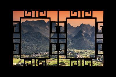China 10MKm2 Collection - Asian Window - Guilin National Park-Philippe Hugonnard-Photographic Print