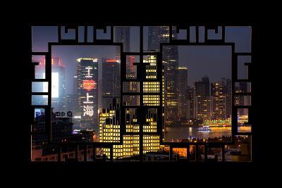 China 10MKm2 Collection - Asian Window - I Love Shanghai-Philippe Hugonnard-Photographic Print