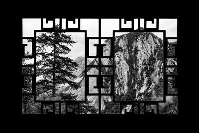 China 10MKm2 Collection - Asian Window - Mount Huashan - Shaanxi-Philippe Hugonnard-Photographic Print