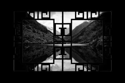 China 10MKm2 Collection - Asian Window - Rhinoceros Lake - Jiuzhaigou National Park-Philippe Hugonnard-Photographic Print