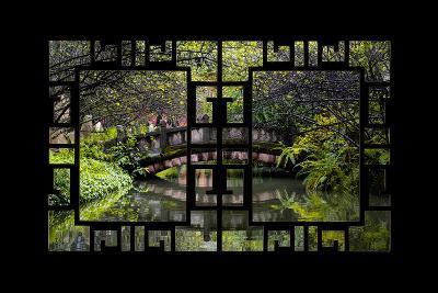 China 10MKm2 Collection - Asian Window - Romantic Bridge-Philippe Hugonnard-Photographic Print