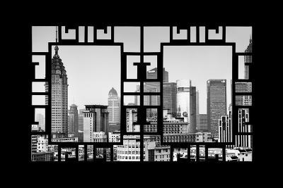 China 10MKm2 Collection - Asian Window - Shanghai Architecture-Philippe Hugonnard-Photographic Print