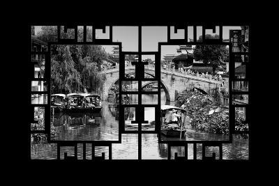 China 10MKm2 Collection - Asian Window - Shanghai Water Town - Qibao-Philippe Hugonnard-Photographic Print