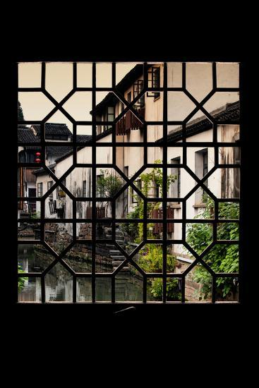 China 10MKm2 Collection - Asian Window - Shantang water Town - Suzhou-Philippe Hugonnard-Photographic Print