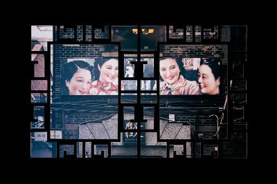 China 10MKm2 Collection - Asian Window - Vintage Chinese Shanghai Girls-Philippe Hugonnard-Photographic Print