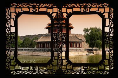 China 10MKm2 Collection - Asian Window - Watchtower - Forbidden City-Philippe Hugonnard-Photographic Print