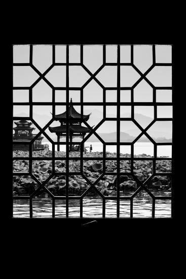 China 10MKm2 Collection - Asian Window - West Lake-Philippe Hugonnard-Photographic Print
