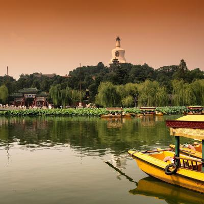 China 10MKm2 Collection - Beihai Park at Sunset - Beijing-Philippe Hugonnard-Photographic Print
