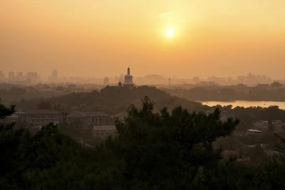China 10MKm2 Collection - Beihai Park at Sunset-Philippe Hugonnard-Photographic Print
