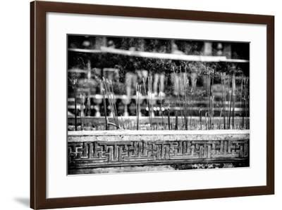 China 10MKm2 Collection - Buddhist Temple with Incense Burning-Philippe Hugonnard-Framed Photographic Print