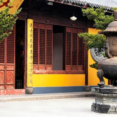 China 10MKm2 Collection - Buddhist Temple-Philippe Hugonnard-Photographic Print