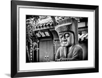 China 10MKm2 Collection - Chinese ancient Statue-Philippe Hugonnard-Framed Photographic Print