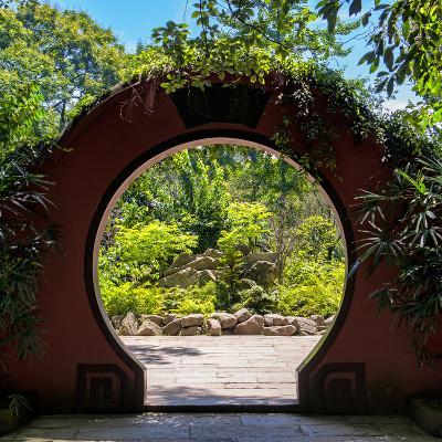 China 10MKm2 Collection - Chinese Arch Garden-Philippe Hugonnard-Photographic Print