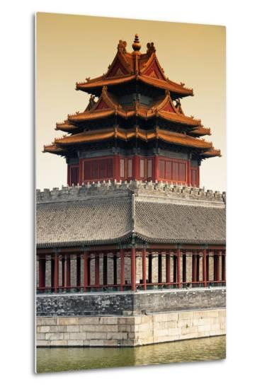 China 10MKm2 Collection - Chinese Architecture at Sunset - Forbidden City - Beijing-Philippe Hugonnard-Metal Print