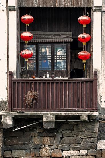 China 10MKm2 Collection - Chinese Architecture-Philippe Hugonnard-Photographic Print
