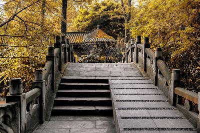 China 10MKm2 Collection - Chinese Bridge in Autumn-Philippe Hugonnard-Photographic Print