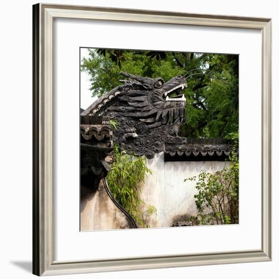 China 10MKm2 Collection - Chinese Dragon Head-Philippe Hugonnard-Framed Photographic Print