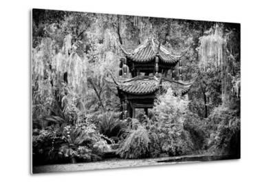 China 10MKm2 Collection - Chinese Pavilion in Garden-Philippe Hugonnard-Metal Print