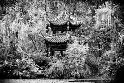 China 10MKm2 Collection - Chinese Pavilion in Garden-Philippe Hugonnard-Photographic Print