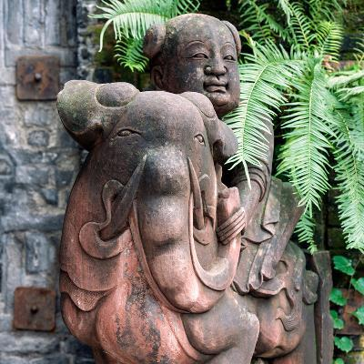 China 10MKm2 Collection - Chinese Statue-Philippe Hugonnard-Photographic Print