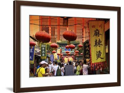 China 10MKm2 Collection - Chinese Street Atmosphere-Philippe Hugonnard-Framed Photographic Print