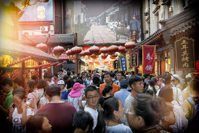 China 10MKm2 Collection - Chinese Street Atmosphere-Philippe Hugonnard-Photographic Print
