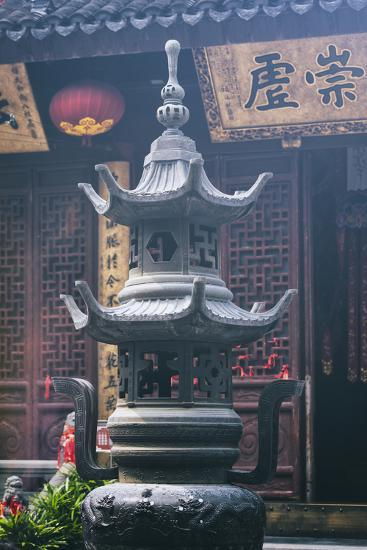 China 10MKm2 Collection - Detail Buddhist Temple-Philippe Hugonnard-Photographic Print