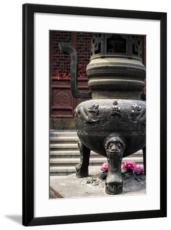 China 10MKm2 Collection - Detail Buddhist Temple-Philippe Hugonnard-Framed Photographic Print