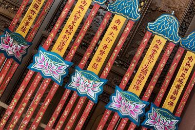 China 10MKm2 Collection - Detail of Buddhist Temple-Philippe Hugonnard-Photographic Print