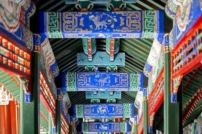 China 10MKm2 Collection - Detail of Imperial Summer Palace-Philippe Hugonnard-Photographic Print