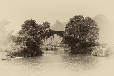 China 10MKm2 Collection - Dragon Bridge on the Yulong river-Philippe Hugonnard-Photographic Print