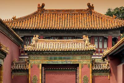 China 10MKm2 Collection - Forbidden City Architecture-Philippe Hugonnard-Photographic Print